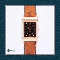 Jaeger-LeCoultre Reverso Classique Rose gold 23mm Black Arabic numerals