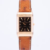 Jaeger-LeCoultre Rose gold Manual winding Black Arabic numerals 23mm pre-owned Reverso Classique