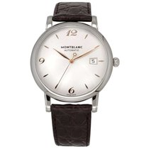 Montblanc Star Classique Steel 39mm White United States of America, Texas, Plano