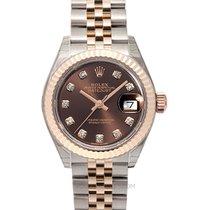 Rolex Lady-Datejust Oro rosa 28mm Marrón