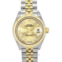 Rolex 279173 G Oro amarillo Lady-Datejust 28mm nuevo