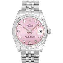 Rolex 178274 G Or blanc 2020 Lady-Datejust 31mm nouveau