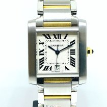 Cartier Tank Française pre-owned Gold/Steel