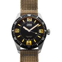 Oris Steel Automatic Black 40mm new Divers Sixty Five