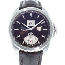 TAG Heuer Grand Carrera Steel 42.5mm Brown United States of America, Georgia, Atlanta