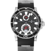 Ulysse Nardin Maxi Marine Diver Steel 42mm Black No numerals United States of America, Maryland, Baltimore, MD