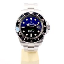 Rolex Sea-Dweller Deepsea Steel 44mm Blue No numerals United Kingdom, London