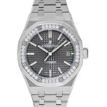 Audemars Piguet Royal Oak Lady Stahl 37mm Grau