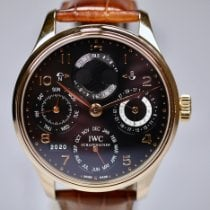 IWC IW502119 Yellow gold 2010 Portuguese Perpetual Calendar 44mm pre-owned