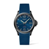 Longines Conquest Steel 43mm Blue Arabic numerals Canada, Toronto