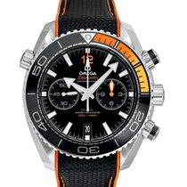 Omega Seamaster Planet Ocean Chronograph 215.32.46.51.01.001 Neu Stahl 45.5mm Automatik