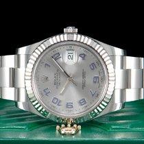 Rolex Datejust II Stahl 41mm Silber Arabisch Deutschland, Essen