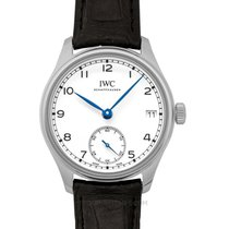 IWC Portuguese Hand-Wound Steel 43.2mm White