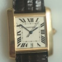 Cartier Tank Française Yellow gold 28mm White Roman numerals United States of America, Florida, Miami