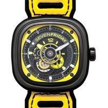 Sevenfriday P3-3 nowość Automatyczny Zegarek z oryginalnym pudełkiem i oryginalnymi dokumentami P3B/03