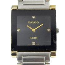 Rado Steel 30mm Quartz 160 0282 3 pre-owned