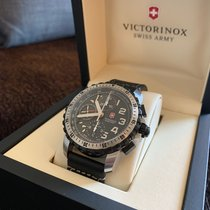 Victorinox Swiss Army Alpnach Stal 43mm Czarny Arabskie