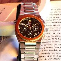 IWC Ingenieur Chronograph Stahl 34mm Schwarz Arabisch Schweiz, Erlenbach