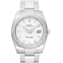 Rolex Oyster Perpetual Date White gold 34mm White