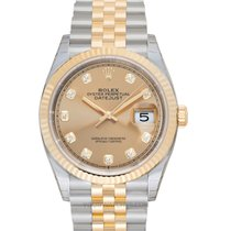 Rolex Datejust Yellow gold 36mm Champagne