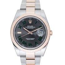 Rolex Datejust II Oro rosa 41mm Gris