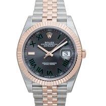 Rolex Datejust II Oro rosa 41mm Plata