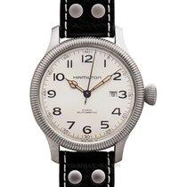 Hamilton Khaki Field Pioneer nuevo Reloj con estuche y documentos originales H60515593