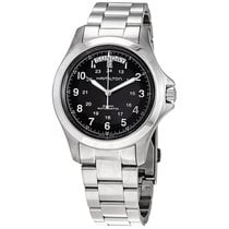 Hamilton Khaki Field King Steel 40mm Black Arabic numerals United States of America, Florida, Boca Raton