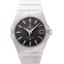 Omega Constellation Men Acier 38mm Gris