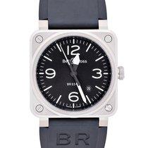 Bell & Ross BR 03-92 Steel новые Автоподзавод Часы с оригинальными документами и коробкой BR0392-BLC-ST