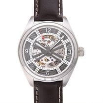 Hamilton Khaki Field Skeleton Steel 42mm Grey