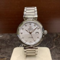 Omega De Ville Ladymatic Steel 34mm Mother of pearl No numerals