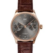 IWC Portuguese Automatic Red gold 42.30mm Grey