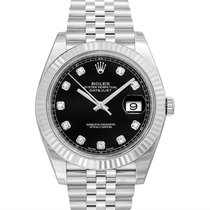 Rolex Datejust White gold Black