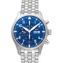 IWC Pilot Chronograph Aço 43.00mm Azul