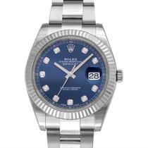 Rolex Datejust Acier 41mm Bleu