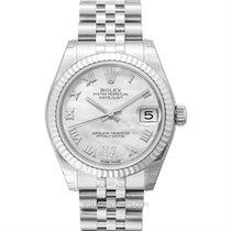 Rolex 178274 NR Or blanc Lady-Datejust 31mm nouveau