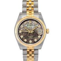 Rolex Lady-Datejust Or jaune 31mm Nacre