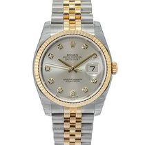 Rolex 116233 G Yellow gold Datejust 36.00mm new