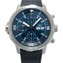 IWC Aquatimer Chronograph Steel 44.00mm Blue