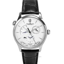 Jaeger-LeCoultre Master Geographic Otel 39.00mm Argint