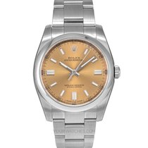 Rolex Oyster Perpetual 36 Steel 36mm White