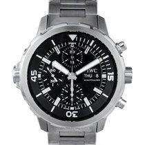 IWC Aquatimer Chronograph nuevo Automático Reloj con estuche y documentos originales IW376804