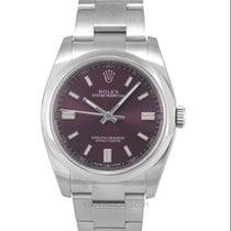 Rolex Oyster Perpetual 36 Steel 36mm Purple