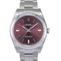 Rolex Oyster Perpetual 39 Steel 39mm Purple