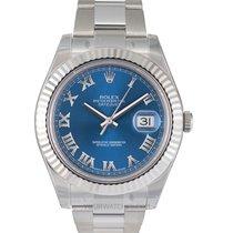 Rolex Datejust II Plav-modar
