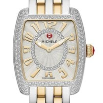 Michele Urban Steel 29mm Silver Arabic numerals United States of America, New Jersey, Edgewater