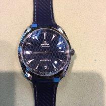 歐米茄 Seamaster Aqua Terra 鋼 41mm 藍色 無數字