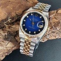 Rolex 16233 Goud/Staal 1990 Datejust 36mm tweedehands