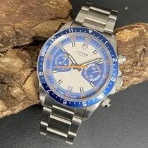 Tudor Heritage Chrono Blue Acero 42mm Azul